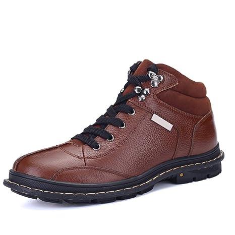 Jiuyue-shoes, Botas para Hombre 2018 Botines para Hombre, cómodos y cómodos con