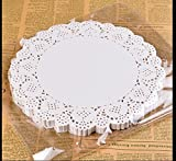 : BestBlue Paper Lace Doilies 10.5 Inch Set of 180