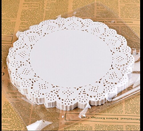 BestBlue Paper Lace Doilies 10.5 Inch Set of 180