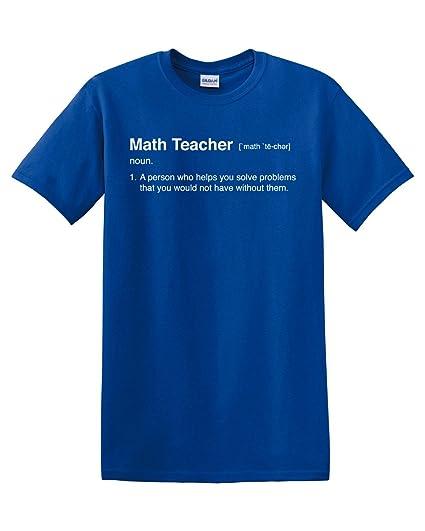 98368e7d8 Thread Science Math Teacher Definition Calculus Algebra Men's Adult T-Shirt  Apparel Funny Humor