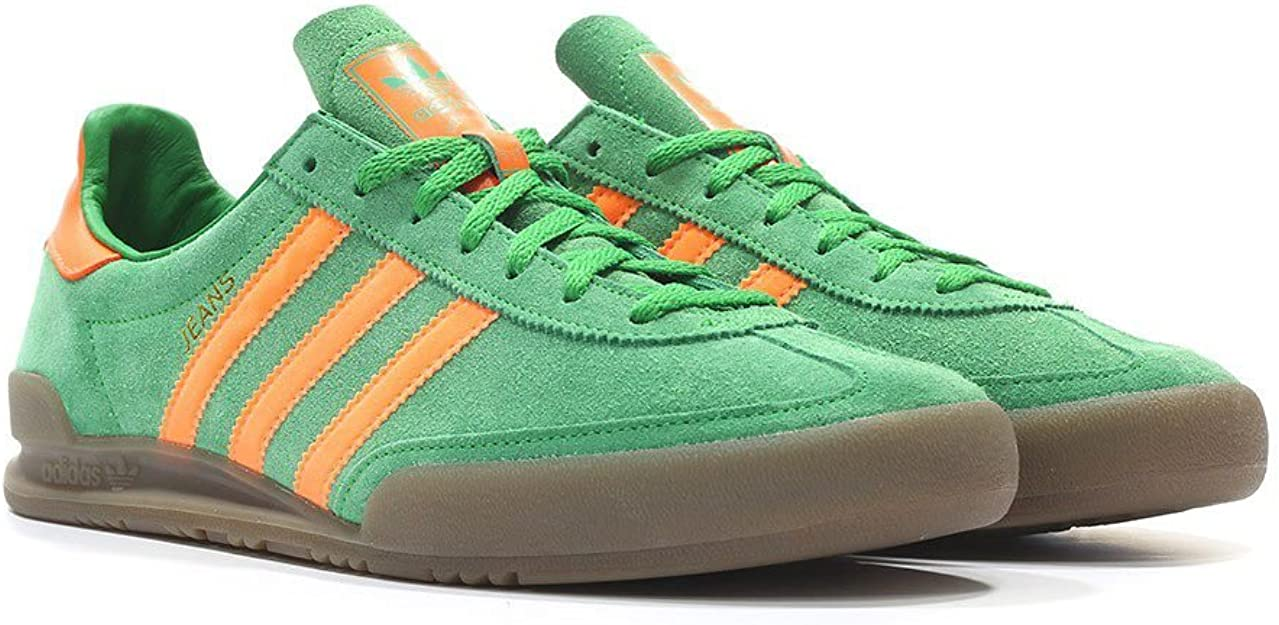 adidas Jeans, GreenSolar OrangeGum, 13,5: