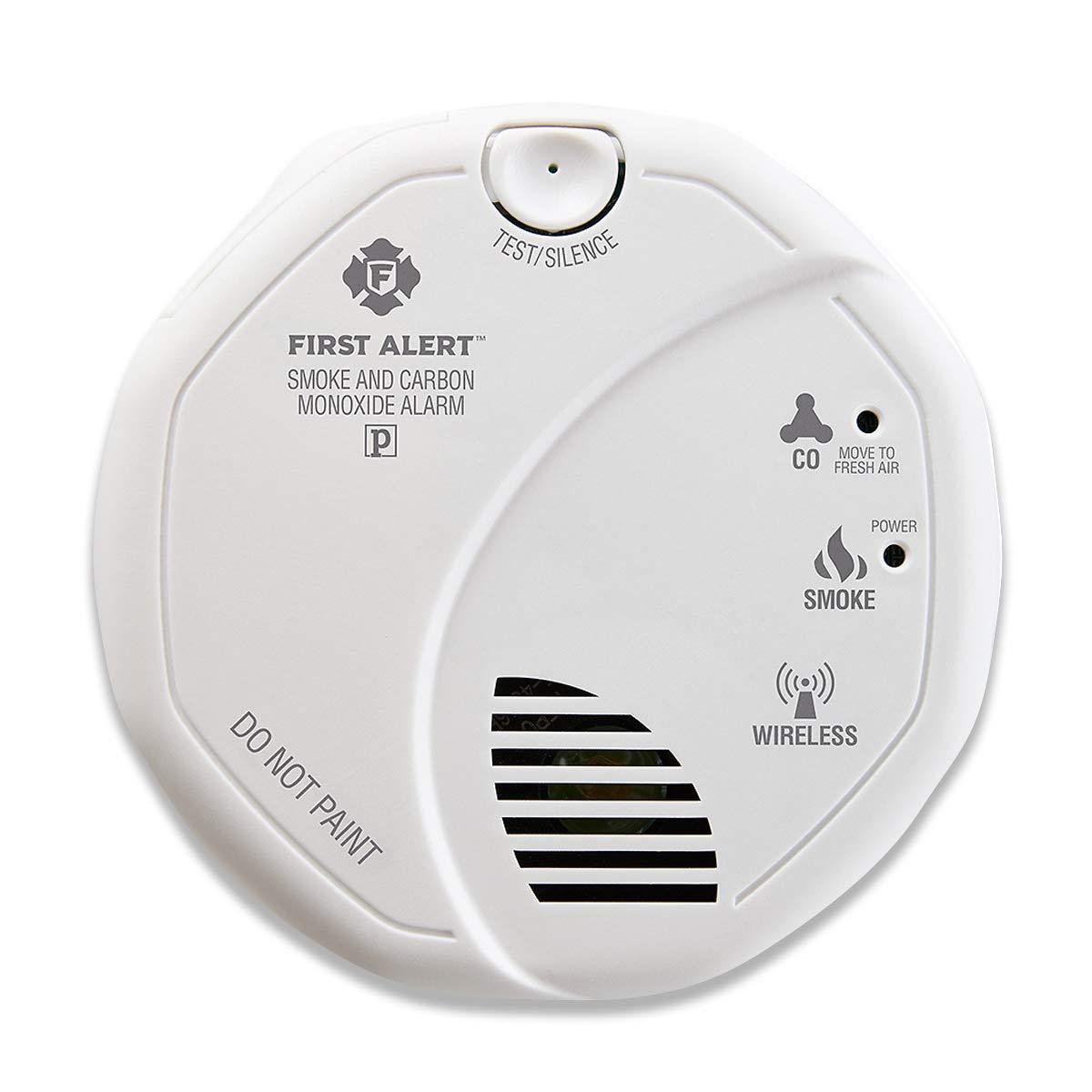First Alert 2-in-1 Z-Wave Smoke Detector & Carbon Monoxide Alarm