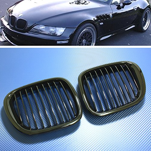 Bmw Z3 Body - Front Grille Front Hood Kidney Grille Grill FOR BMW Z3 Z-Series 1996-02 Gloss Black