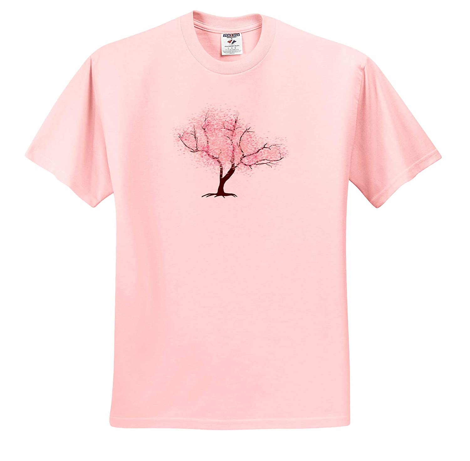Adult T-Shirt XL Cherry Blossom Tree ts/_310681 3dRose Janna Salak Designs Nature and Spirituality