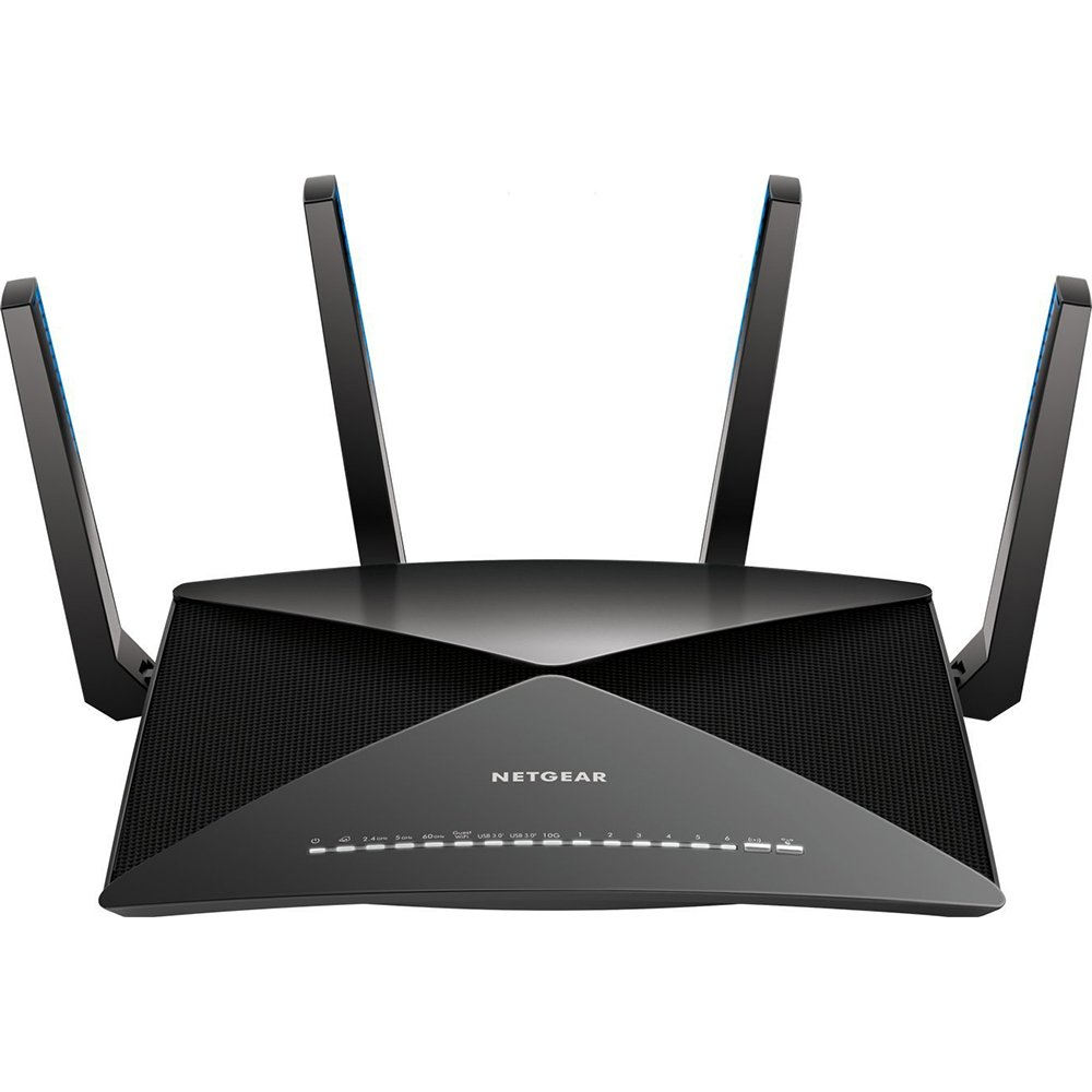 Nighthawk X10 AD7200 Quad-Stream Wireless Routers for Home Use