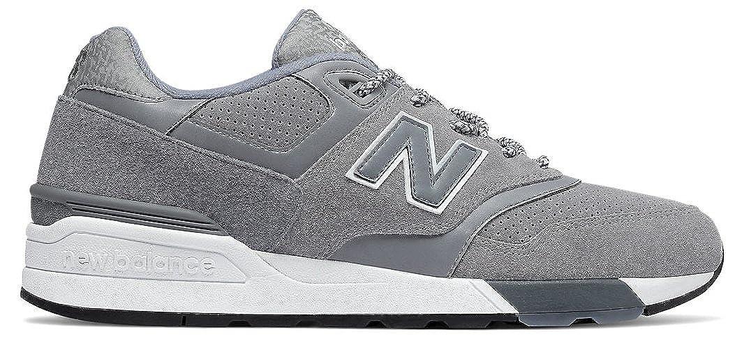 New Balance Herren 597 Turnschuhe grau Einheitsgröße