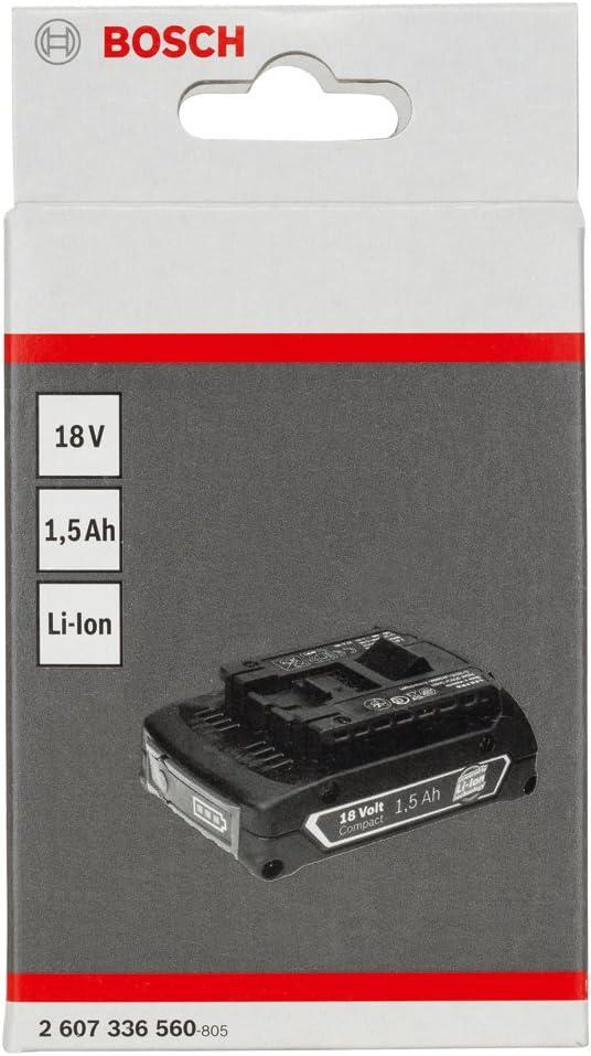 Li Ion HD BOSCH Einschubakkupack 18 V 1,5 Ah 2607336560