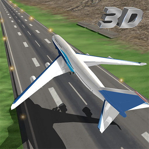 Plane Landing Simulator 2018 - City Airport Aeroplane Flying & Pilot Plane Flight Simulator 3D - Amazing Airplane Games for kids (Flying Planes)