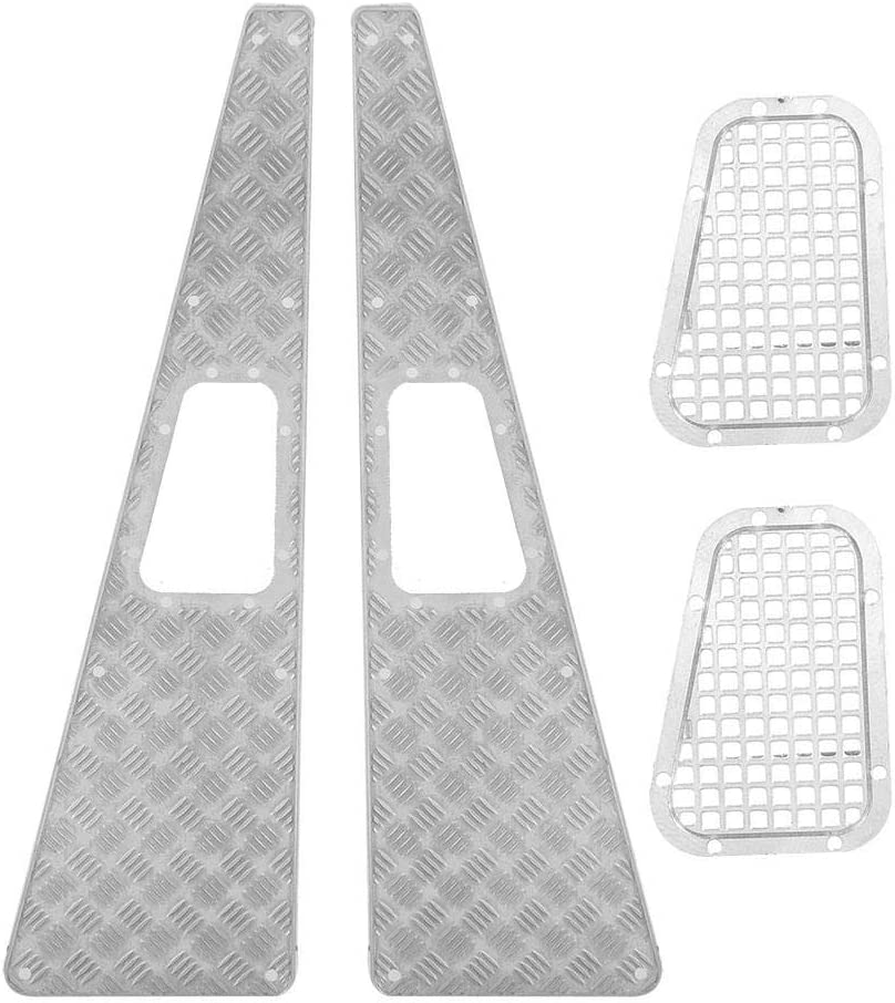 GOTOTOP RC Intake Grill Metal Anti-skid Plate Intake Grille RC Upgrade Part for TRX-4 1:10 RC Car Crawler