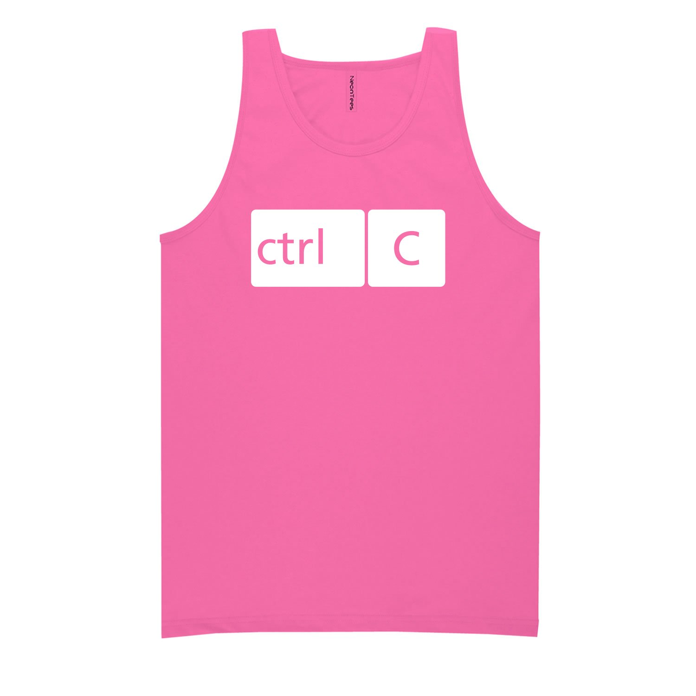 ZeroGravitee Youth CTRL C Bright Neon Tank Top 5 Bright Colors