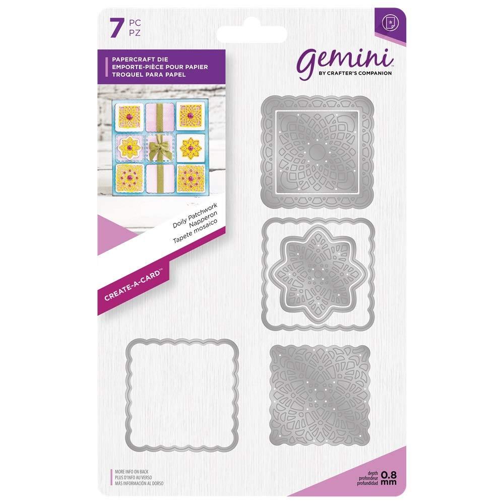 Gemini Create a Card Card Card Craft Metal Papercraft Patchwork Die Set - Doily B07HB253QT | Komfort  52b421
