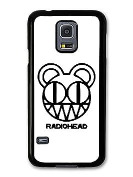 Radiohead Black and White Logo carcasa de Samsung Galaxy S5 ...