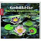 Gehäkelte Gartenimpressionen: Blüten und mehr, inspiriert von Claude Monets Garten