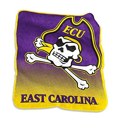 (Logo East Carolina Pirates Mavrik Raschel Throw)