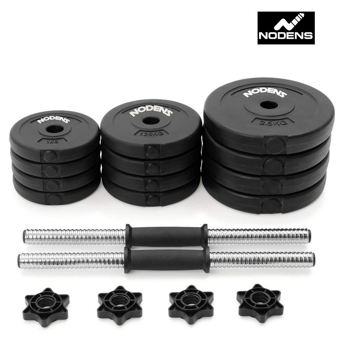 NODENS PVC Home Gym Dumbbells Kit