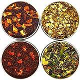 NassimTea Leaves Natural Tea Sampler 4 Tea Gift Set - Bestsellers