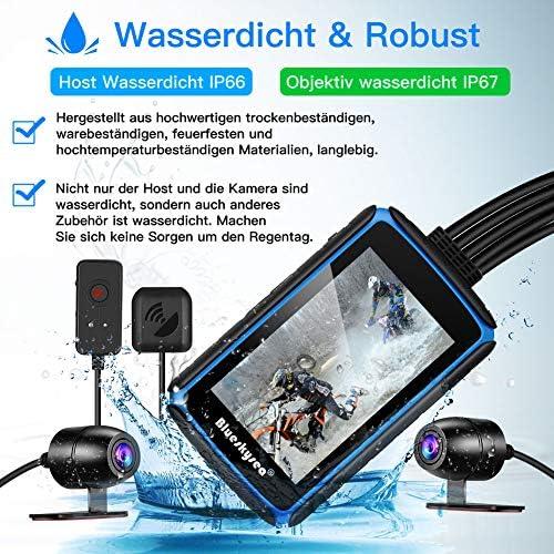 Blueskysea Dv988 Motorrad Dash Cam Kamera 1080p 30fps Elektronik