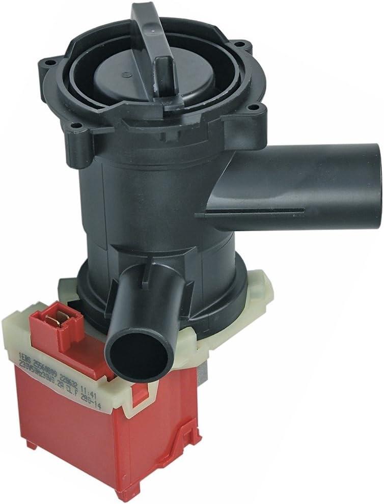 Bosch Siemens 144192 00144192 Ablaufpumpe Magnetpumpe Magnettechnikpumpe Entleerungspumpe Wasserpumpe Schumtzwasserpumpe Laugenpumpe Pumpe 30W Waschmaschine passend auch Constructa Neff Neckermann