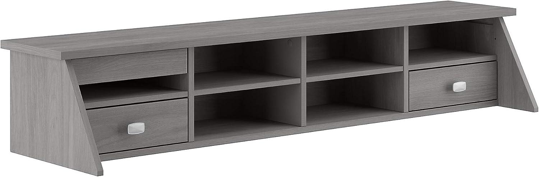Bush Furniture Broadview Desktop Organizer, Modern Gray