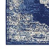 Nourison Grafix Navy/Blue Area Rug 6' x