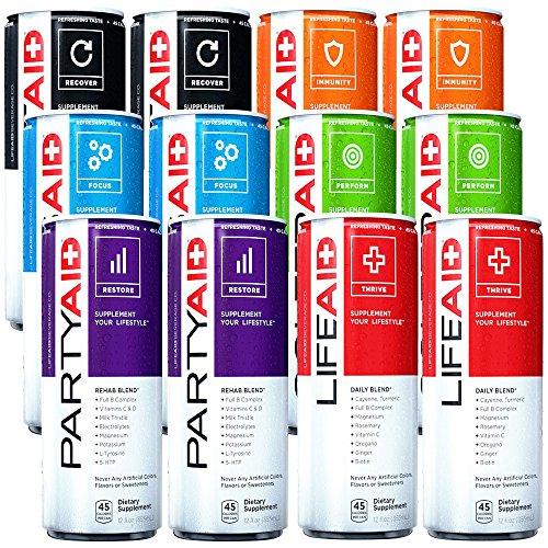 LifeAid Beverage Company Variety Pack 12 - 12 fl. oz. Cans