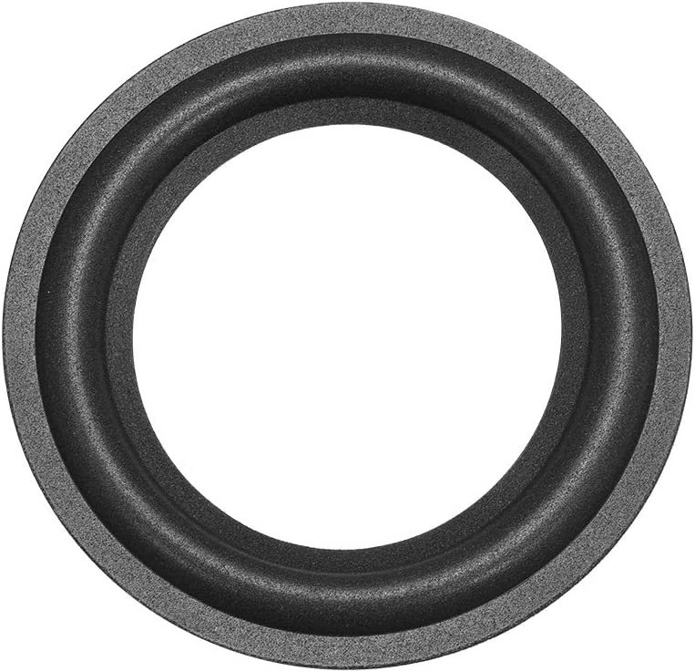 uxcell 4.5 inches 4.5 inch Speaker Foam Edge Surround Rings Replacement for Speaker Repair or DIY