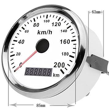 gogolo universal 3.3 GPS Digital 0 – 200 KM/H Velocímetro cuentakilómetros dispositivos instruktion