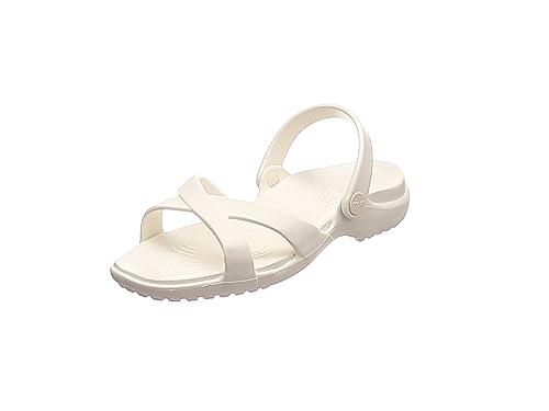 b5982a639 Crocs Women s Meleen Crossband Sandal Slide  Amazon.co.uk  Shoes   Bags