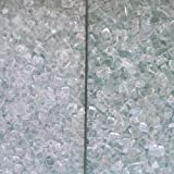 Fireplace Glass, 2 Kinds: Medium & Extra Large ~1/4″, 50 LBS Review
