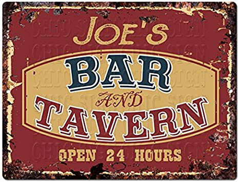 Vintage Style Saloon Metal Sign FREE SHIPPING Pub Bar Tavern Sign