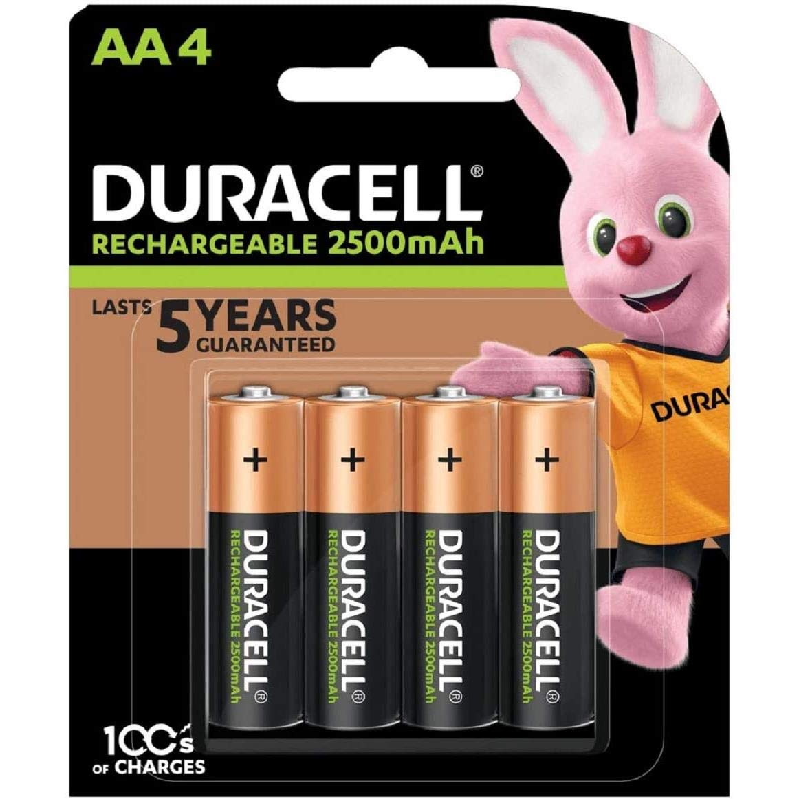 40x Duracell Ultra AA Double A 2500mAh Rechargeable Battery Batteries 81535767