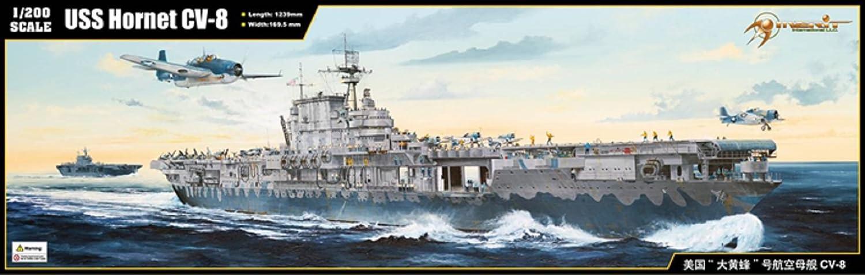 Merit - Maqueta del USS Hornet CV-8 Escala 1:200 (62001)