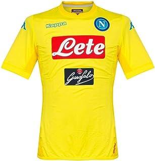 Kappa 2017-2018 Napoli Authentic Away Football Soccer T-Shirt