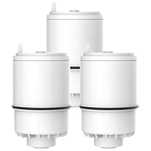 AQUACREST RF 3375 Water Filter, Compatible with Pur RF-3375 Faucet Replacement Water Filter (Pack of 3)