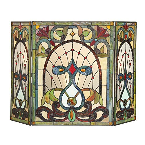 tiffany fireplace screen - 7