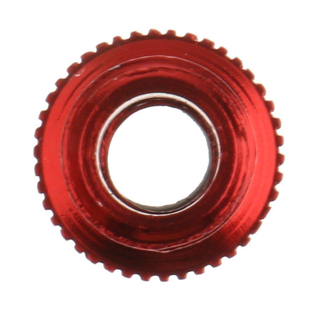 homiki adaptador de válvula de aluminio aleación de bicicletas de Mountain convertidor Válvula de Neumático con junta tórica, color rojo: Amazon.es: ...