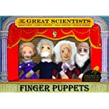 Great Scientists Finger Puppet Set