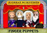 : Great Scientists Finger Puppet Set
