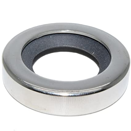 Amazon com: Stainless Steel Shaft Seal with PTFE Single Lip
