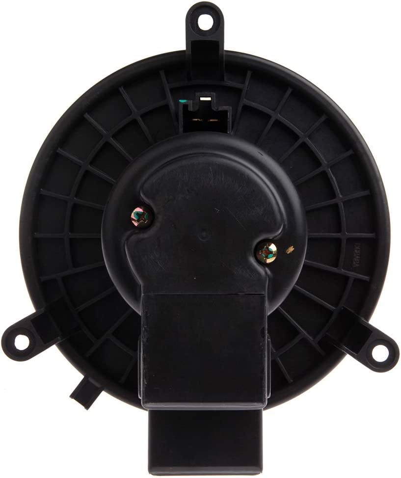 cciyu Rear HVAC Heater Blower Motor with Wheel Fan Cage 5183147AA Air Conditioning AC Blower Motor fit for 2001-2016 Chrysler Town Country //2001-2007 Dodge Caravan //2001-2016 Dodge Grand Caravan