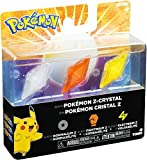 Pokemon Z-Ring Normalium Z, Frightinium Z & Electrium Z Crystal 3-Pack