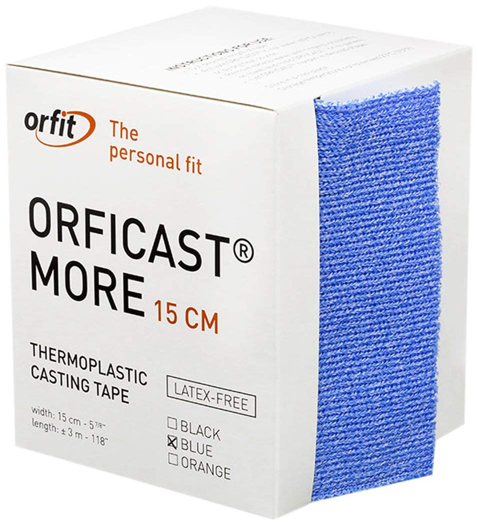 Orficast More Thermoplastic Tape - 6'' X 9' (Blue) - 1 Each / Each - 24-5612-1