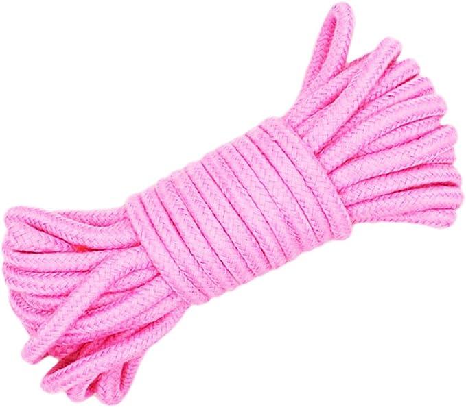 Favourall - Cuerda de algodón suave de 10 m de largo, multiusos ...
