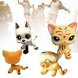 1pc Pet Shop LPS Toys Action Figure Toys Cartoon