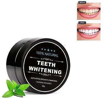 Amazon Com Foonee Activated Charcoal Teeth Whitening Teeth