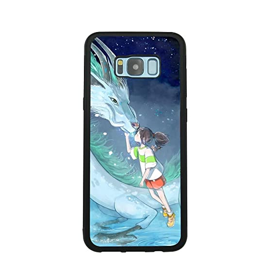 Spirited Away Dragon Anime Manga Comic Theme Case for Samsung Galaxy S8  Plus TPU Silicone Gel Edge + PC Bumper Case Skin Protective Printed Phone  Full