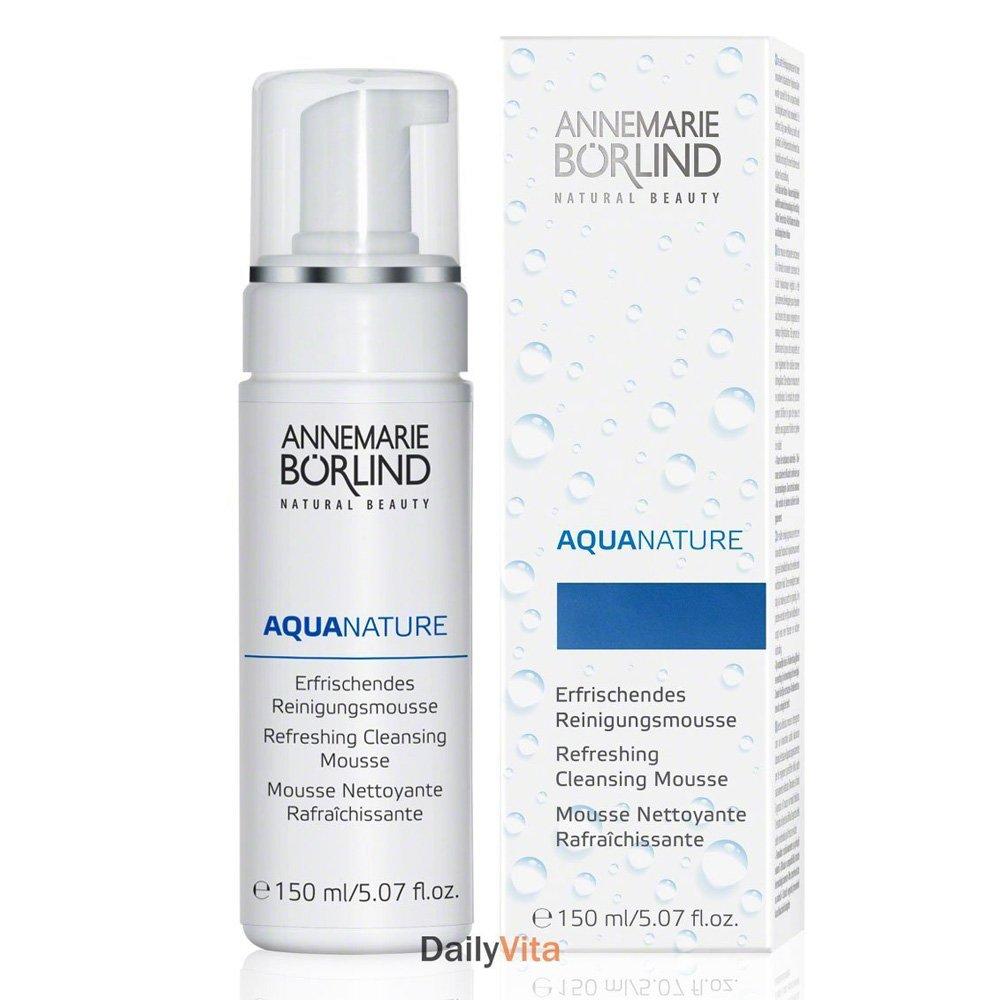 Borlind, Facial Cleansing Mousse Aquanature, 5.07 Ounce