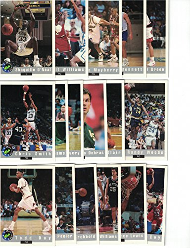 1992 Classic BASKETBALL Draft Picks Complete Set - 100 cards with Shaquille O'Neal RC