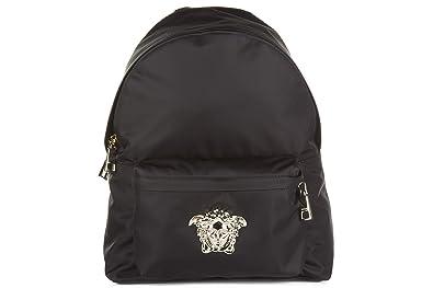 price reduced sale uk pick up Versace sac à dos homme en Nylon noir: Amazon.fr: Chaussures ...