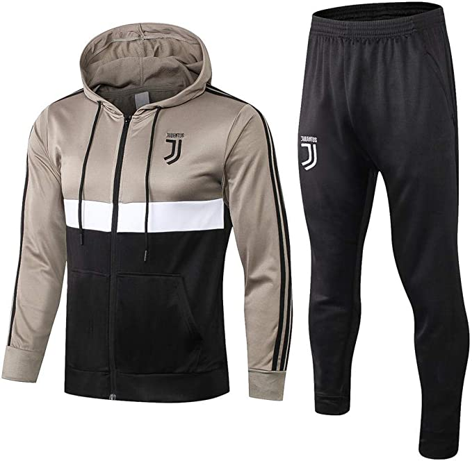 Fútbol Manga Larga Chaqueta y Pantalones Suéter Traje de ...